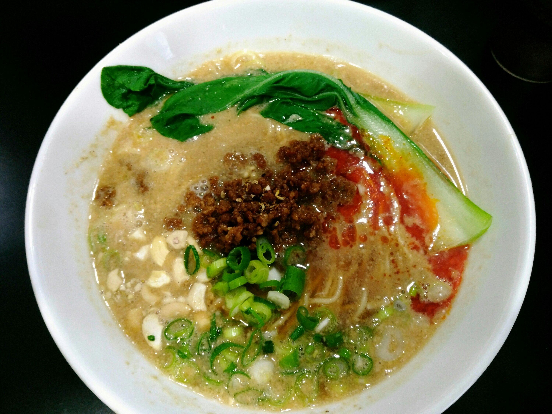 小松島 麺屋熊胆 担々麺