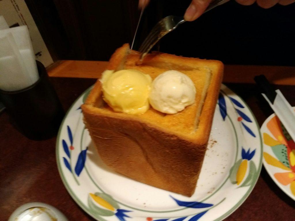 キリンビアフェスタ ハニー&バターブレッドアイスのせ