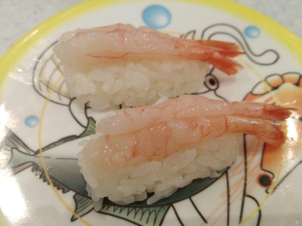 かっぱ寿司 甘えび