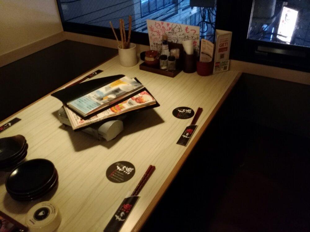 もつ源 仙台駅前中央店の個室