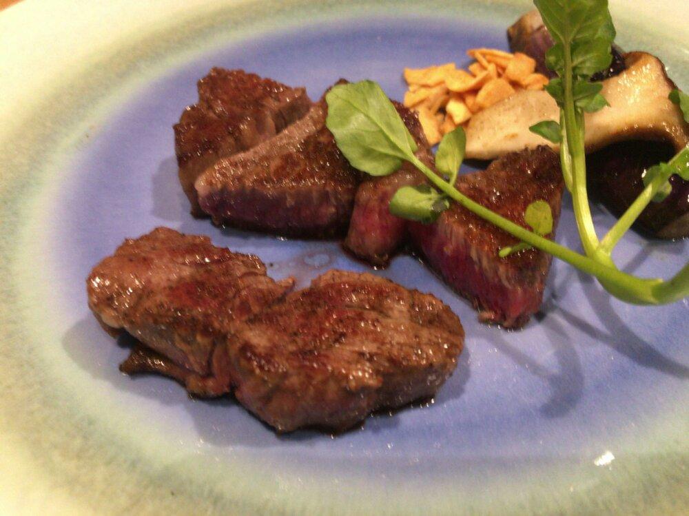 梵天丸の仙台牛ステーキ
