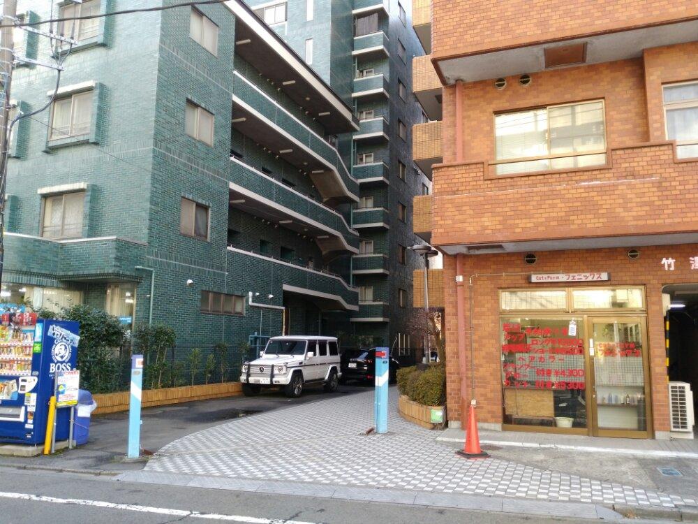 桜木製麺所の入口