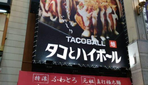 タコとハイボール名掛丁店|たこ焼きでちょい飲みする居酒屋さん